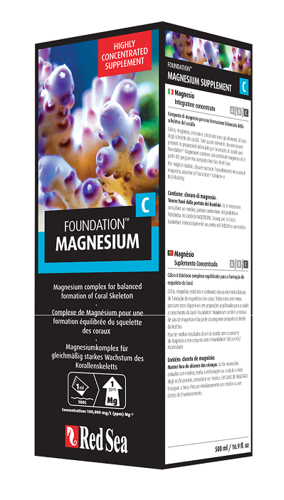 Reef Foundation C  - MAGNESIO -  Mg - 500 ml
