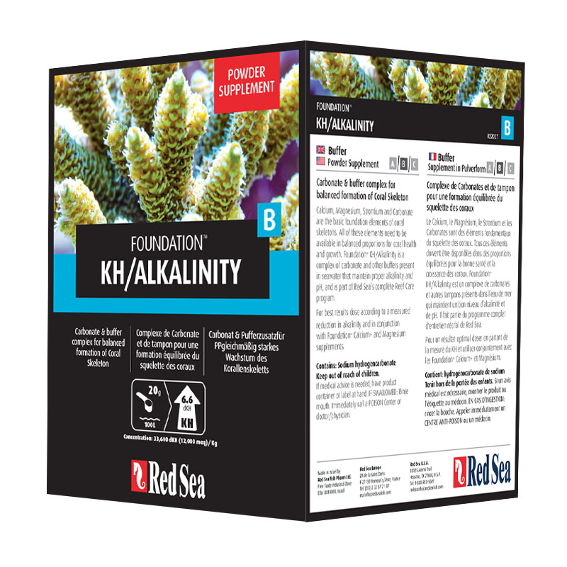 Reef Foundation B  - ALCALINIDAD - KH - 1 kg
